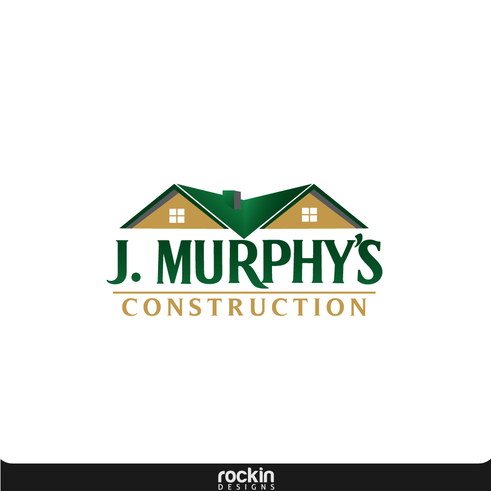 Logo Design by rockin - Entry No. 13 in the Logo Design Contest J. Murphy's Renovations Logo Design.
