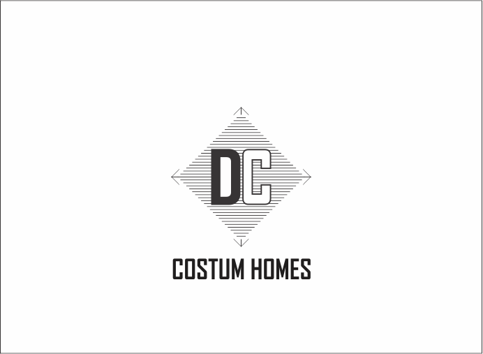 Logo Design by Armada Jamaluddin - Entry No. 195 in the Logo Design Contest Creative Logo Design for DC Custom Homes.