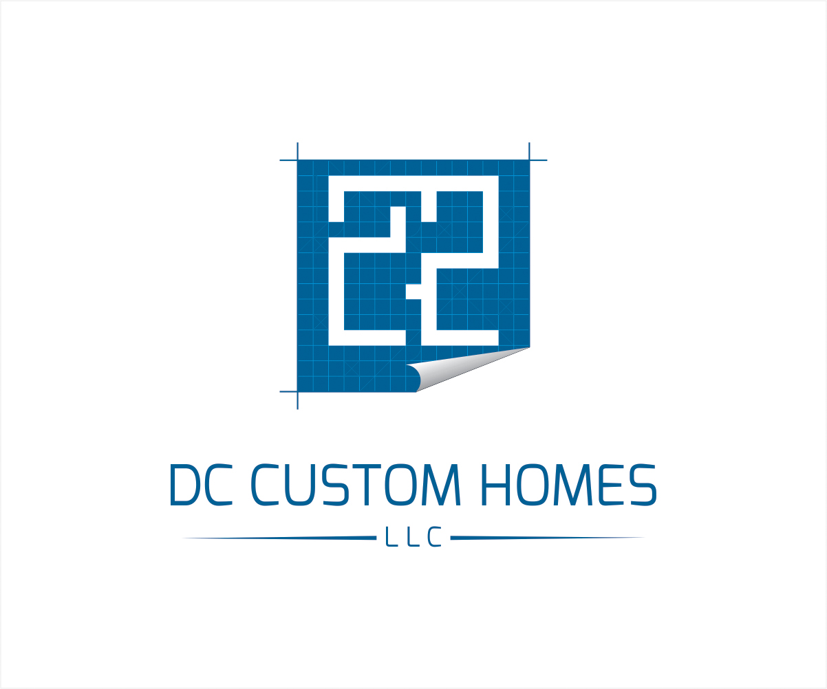 Logo Design by Private User - Entry No. 201 in the Logo Design Contest Creative Logo Design for DC Custom Homes.