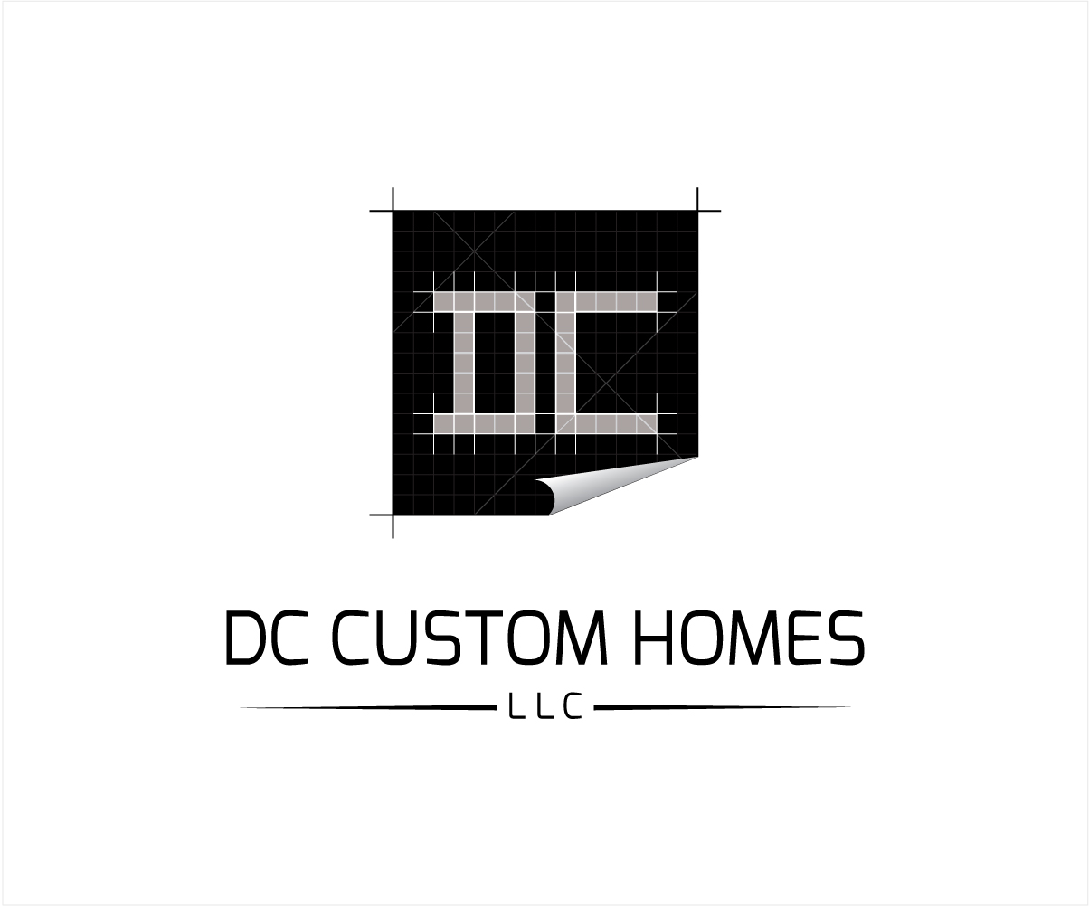Logo Design by Private User - Entry No. 202 in the Logo Design Contest Creative Logo Design for DC Custom Homes.