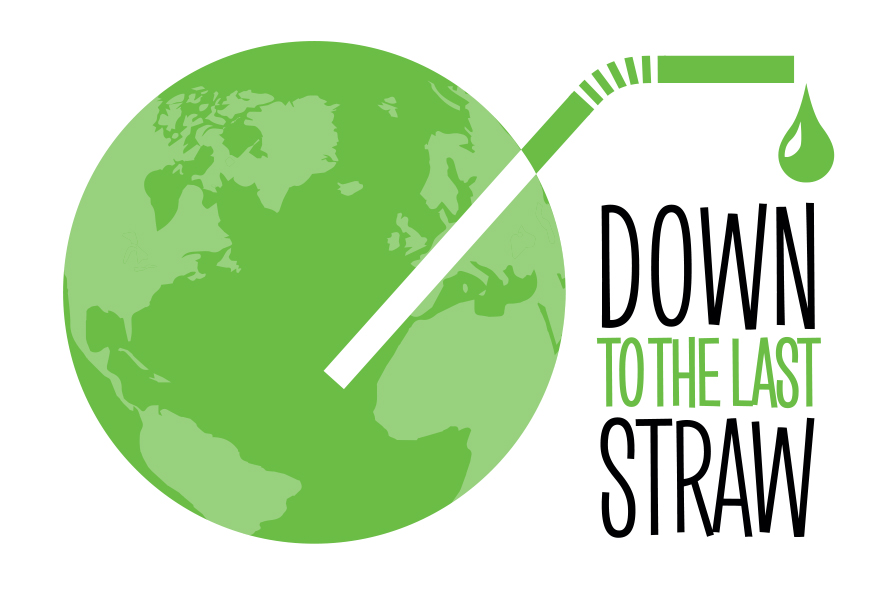 Logo Design by Martyn Jones - Entry No. 21 in the Logo Design Contest New Logo Design for DOWN TO THE LAST STRAW.