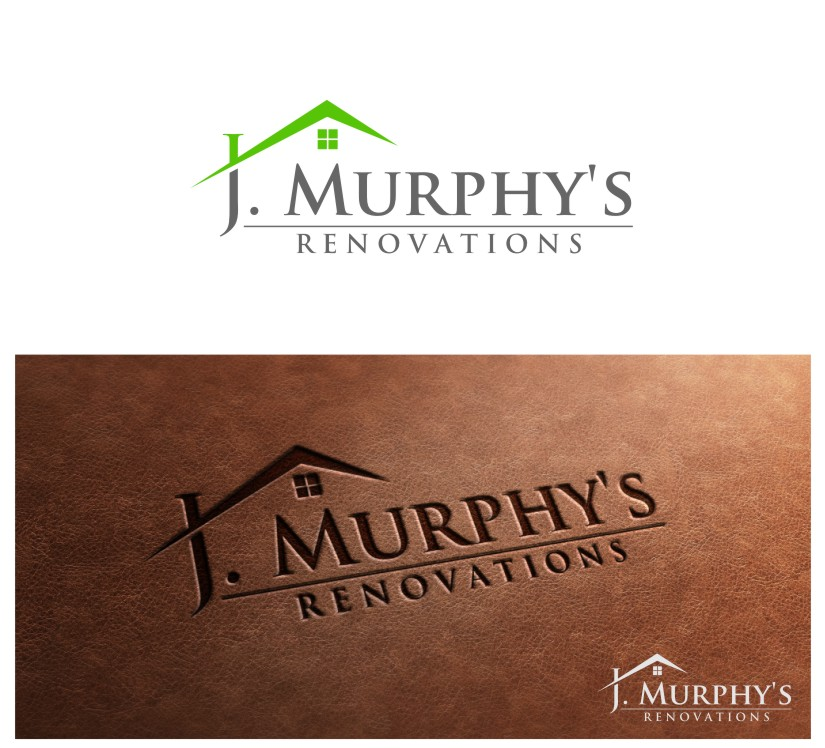 Logo Design by untung - Entry No. 18 in the Logo Design Contest J. Murphy's Renovations Logo Design.