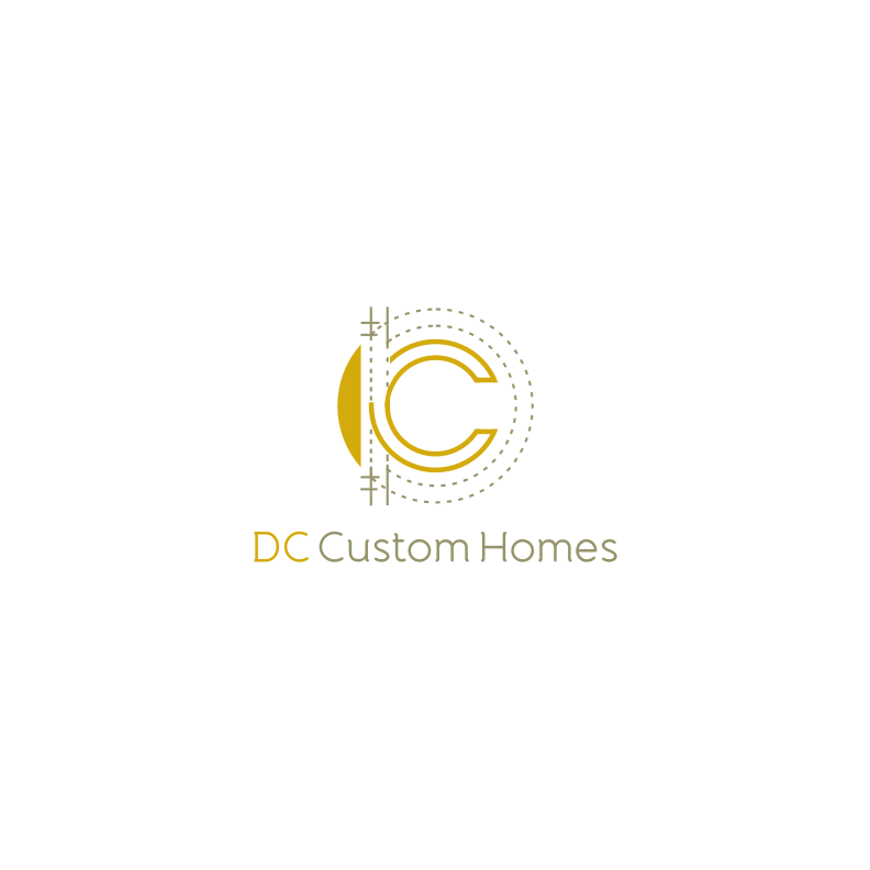 Logo Design by graphicleaf - Entry No. 204 in the Logo Design Contest Creative Logo Design for DC Custom Homes.