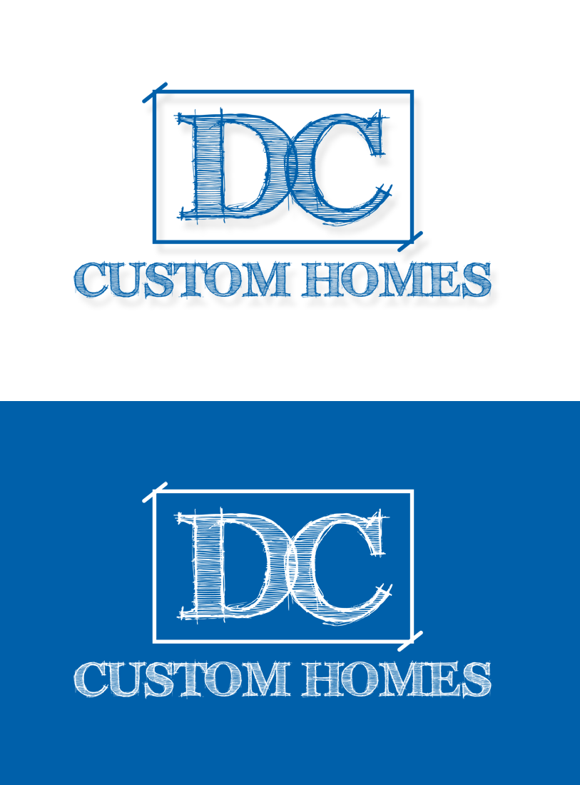 Logo Design by Robert Turla - Entry No. 206 in the Logo Design Contest Creative Logo Design for DC Custom Homes.
