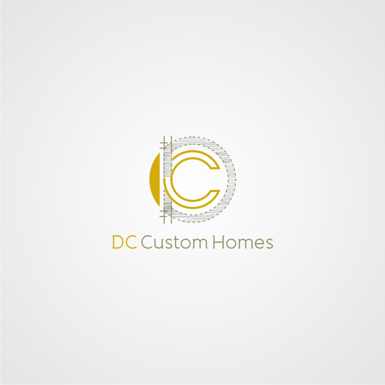 Logo Design by graphicleaf - Entry No. 208 in the Logo Design Contest Creative Logo Design for DC Custom Homes.
