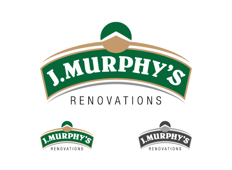 Logo Design by shearyadi - Entry No. 20 in the Logo Design Contest J. Murphy's Renovations Logo Design.