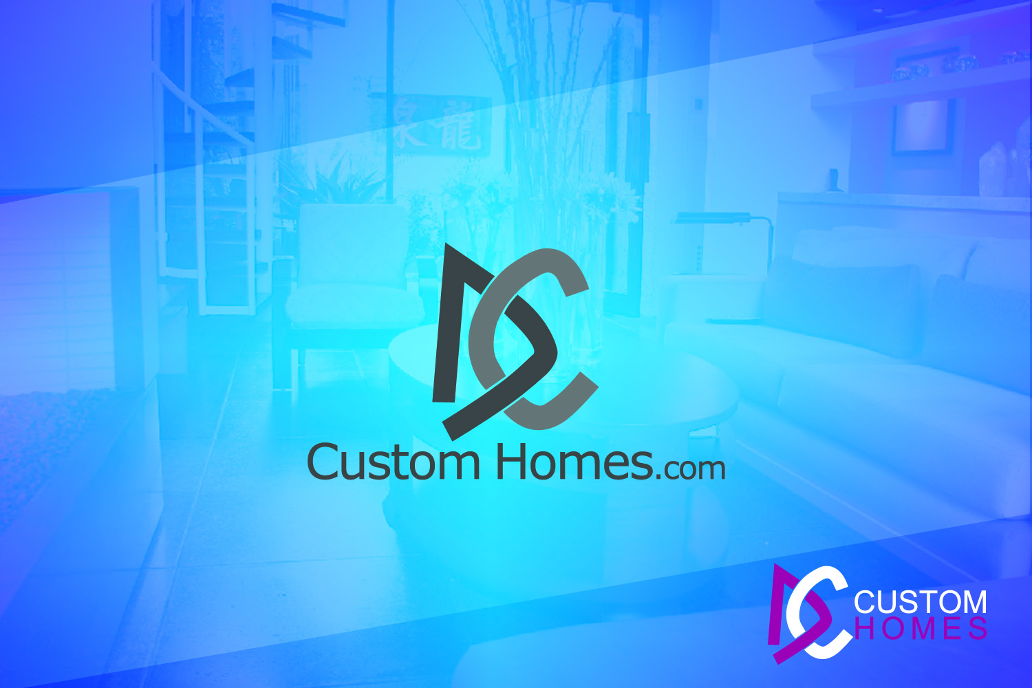Logo Design by Private User - Entry No. 210 in the Logo Design Contest Creative Logo Design for DC Custom Homes.