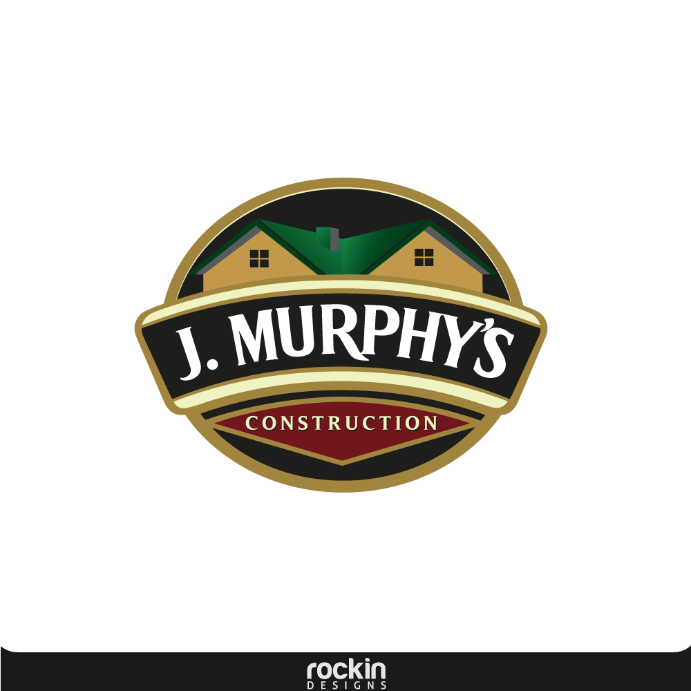 Logo Design by rockin - Entry No. 23 in the Logo Design Contest J. Murphy's Renovations Logo Design.