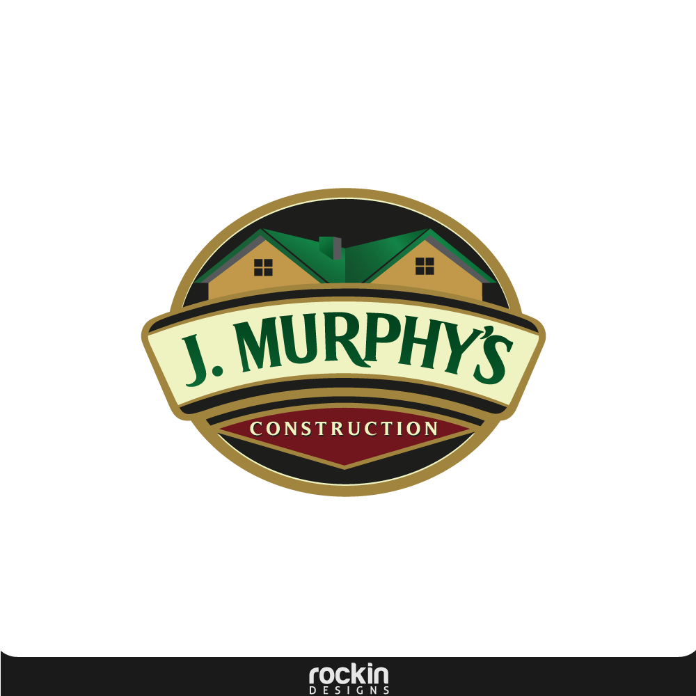 Logo Design by rockin - Entry No. 24 in the Logo Design Contest J. Murphy's Renovations Logo Design.