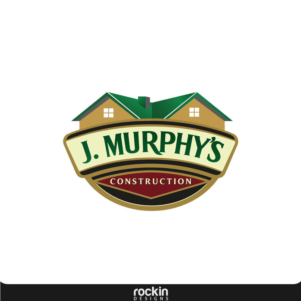 Logo Design by rockin - Entry No. 25 in the Logo Design Contest J. Murphy's Renovations Logo Design.