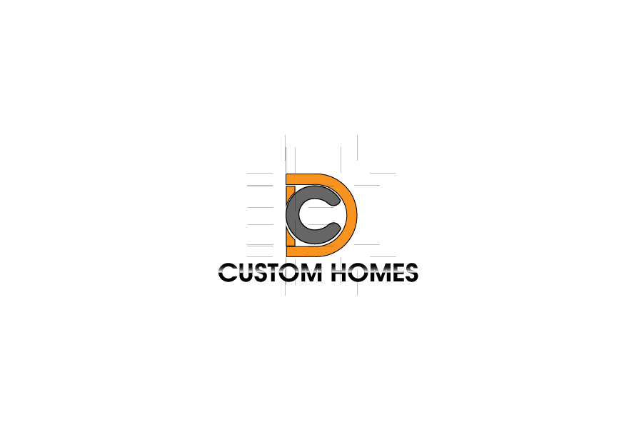 Logo Design by Private User - Entry No. 211 in the Logo Design Contest Creative Logo Design for DC Custom Homes.
