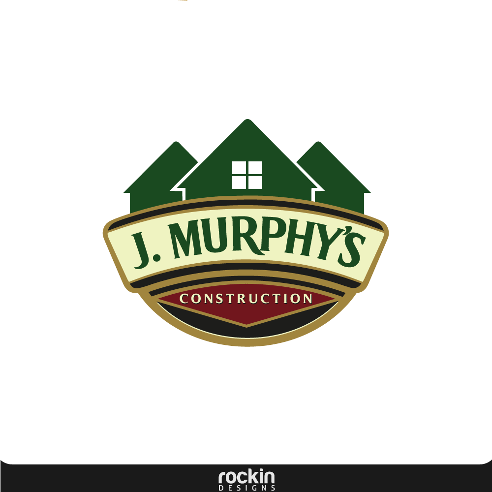 Logo Design by rockin - Entry No. 27 in the Logo Design Contest J. Murphy's Renovations Logo Design.