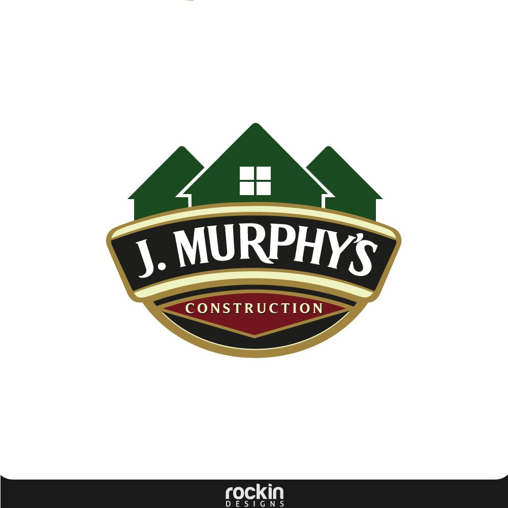 Logo Design by rockin - Entry No. 28 in the Logo Design Contest J. Murphy's Renovations Logo Design.