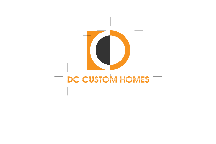 Logo Design by Private User - Entry No. 214 in the Logo Design Contest Creative Logo Design for DC Custom Homes.