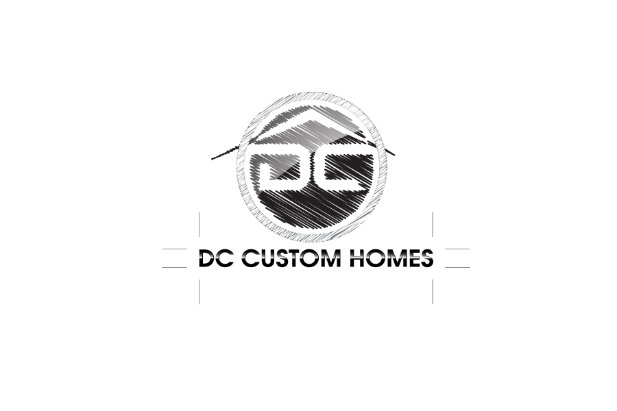 Logo Design by Private User - Entry No. 216 in the Logo Design Contest Creative Logo Design for DC Custom Homes.