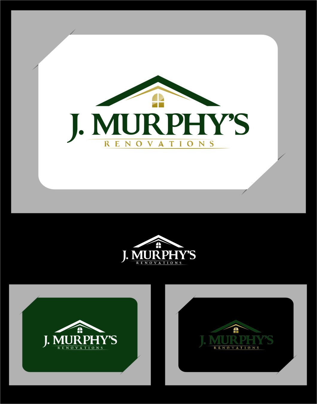 Logo Design by Ngepet_art - Entry No. 29 in the Logo Design Contest J. Murphy's Renovations Logo Design.