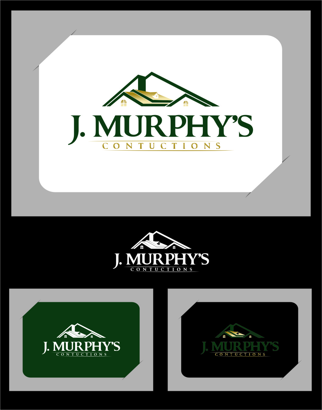 Logo Design by RasYa Muhammad Athaya - Entry No. 30 in the Logo Design Contest J. Murphy's Renovations Logo Design.