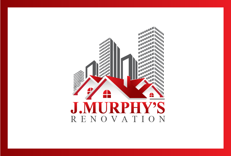 Logo Design by Private User - Entry No. 32 in the Logo Design Contest J. Murphy's Renovations Logo Design.