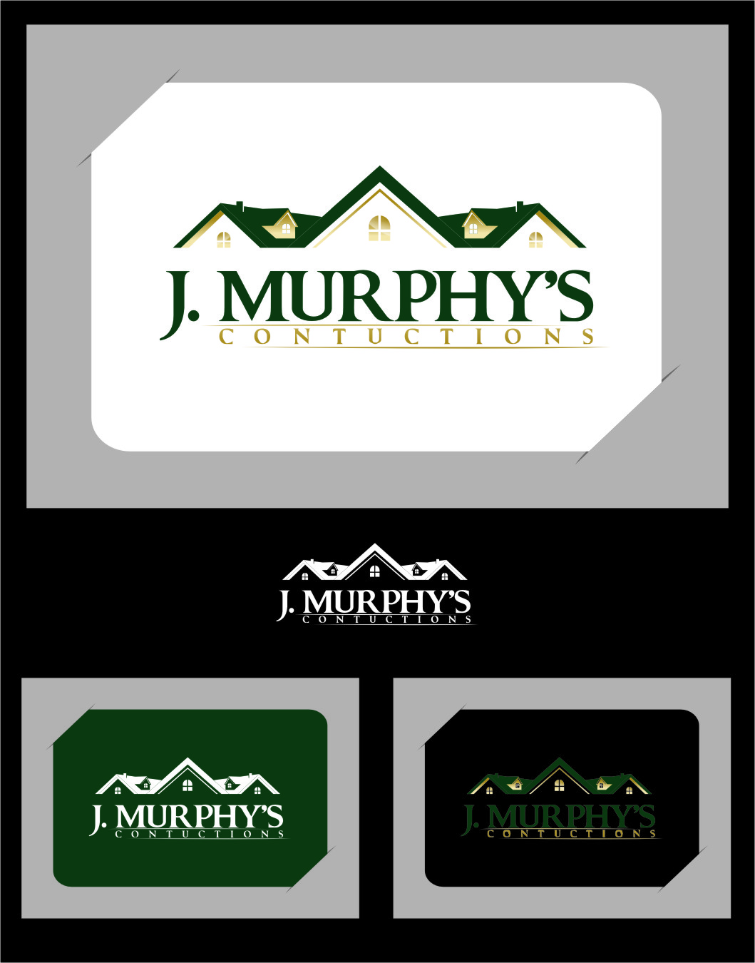 Logo Design by RasYa Muhammad Athaya - Entry No. 34 in the Logo Design Contest J. Murphy's Renovations Logo Design.