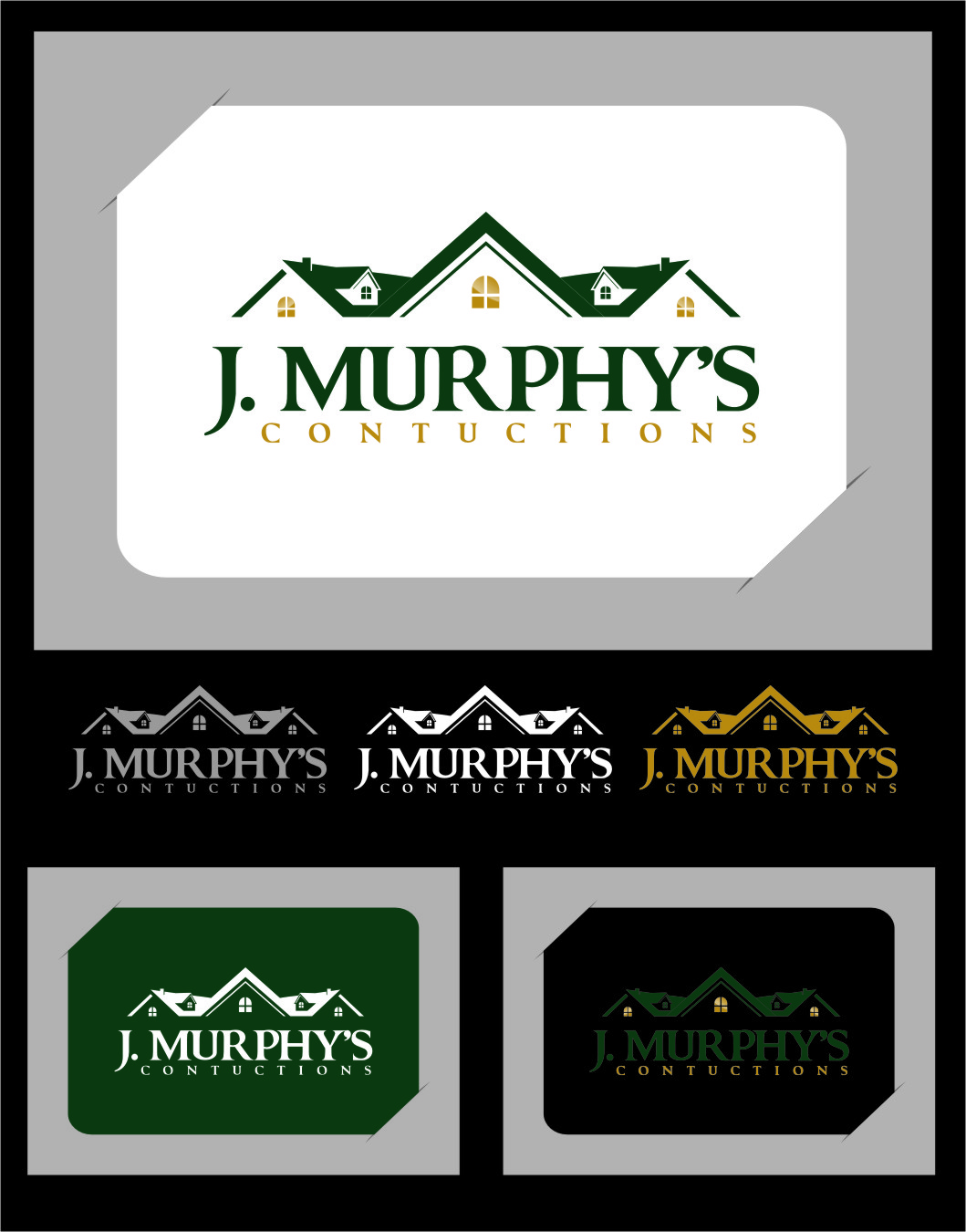Logo Design by Ngepet_art - Entry No. 35 in the Logo Design Contest J. Murphy's Renovations Logo Design.