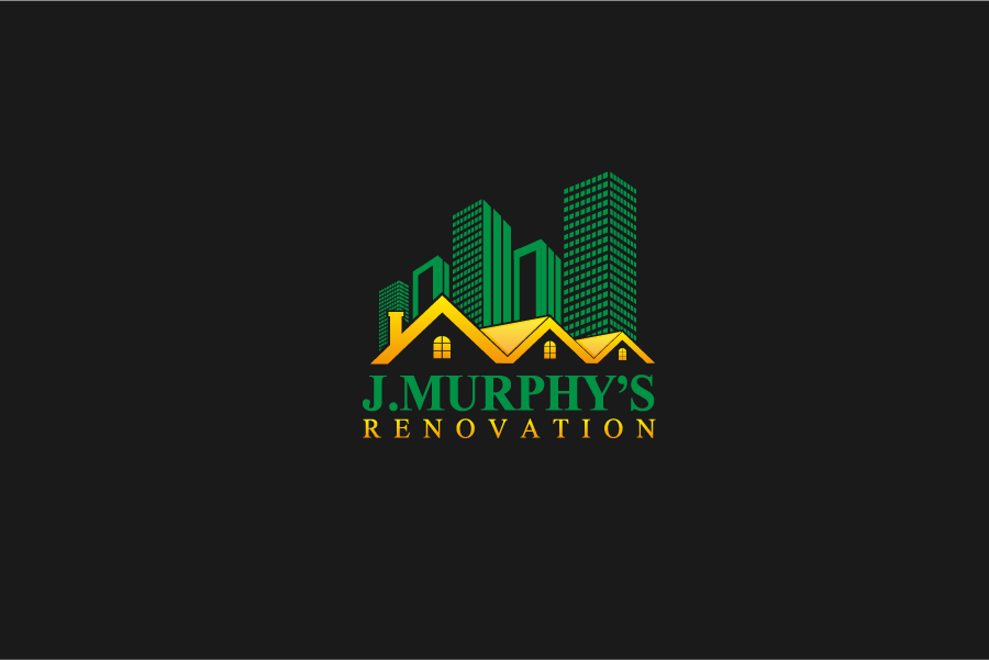 Logo Design by Private User - Entry No. 36 in the Logo Design Contest J. Murphy's Renovations Logo Design.