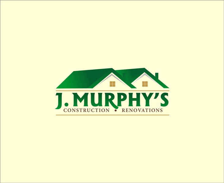 Logo Design by Mhon_Rose - Entry No. 38 in the Logo Design Contest J. Murphy's Renovations Logo Design.