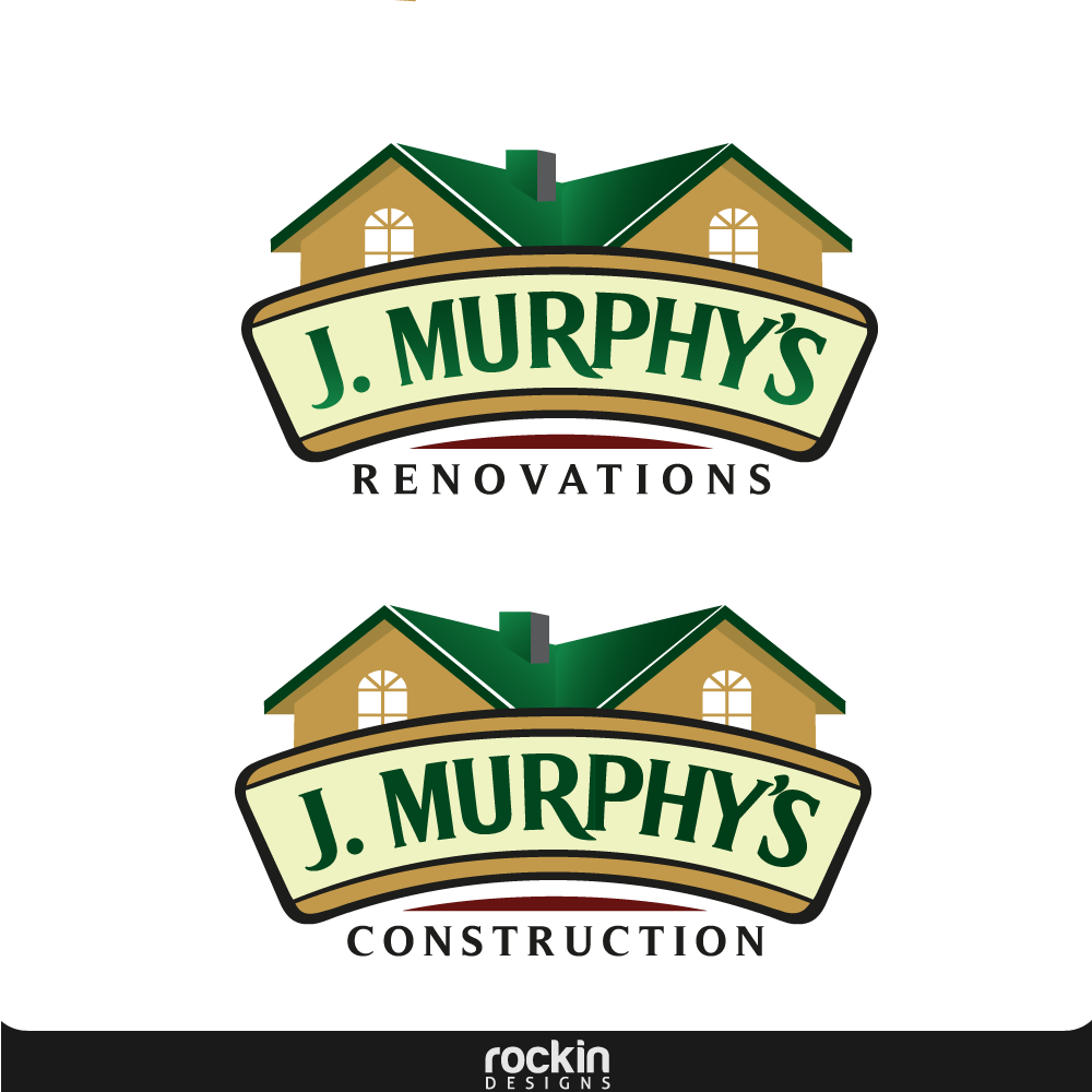 Logo Design by rockin - Entry No. 42 in the Logo Design Contest J. Murphy's Renovations Logo Design.