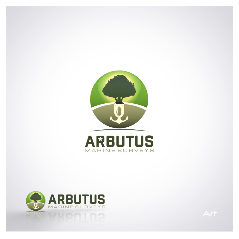 Logo Design by Puspita Wahyuni - Entry No. 16 in the Logo Design Contest Professional Business Logo Design for Arbutus Marine Surveys.