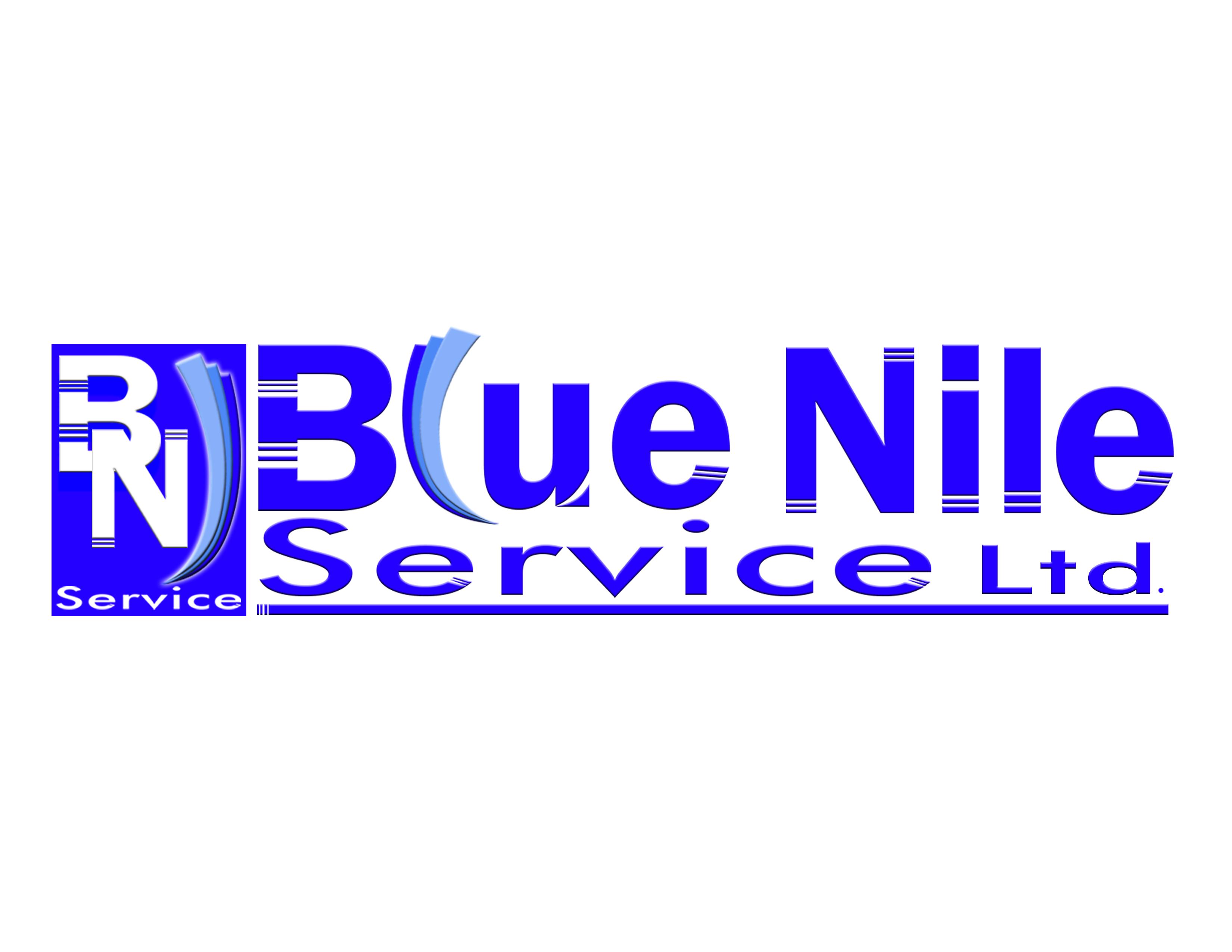 Logo Design by Jo Cres Jao - Entry No. 15 in the Logo Design Contest Imaginative Logo Design for Blue Nile Service Ltd.