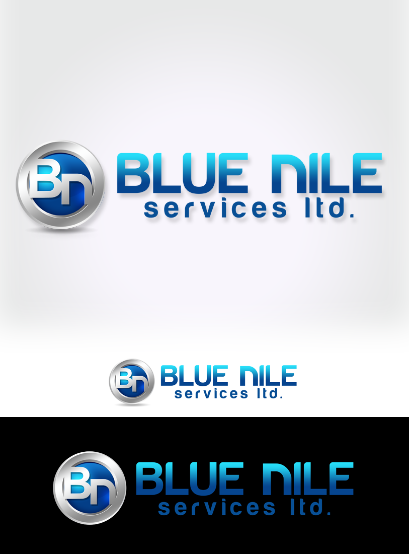 Logo Design by Private User - Entry No. 17 in the Logo Design Contest Imaginative Logo Design for Blue Nile Service Ltd.