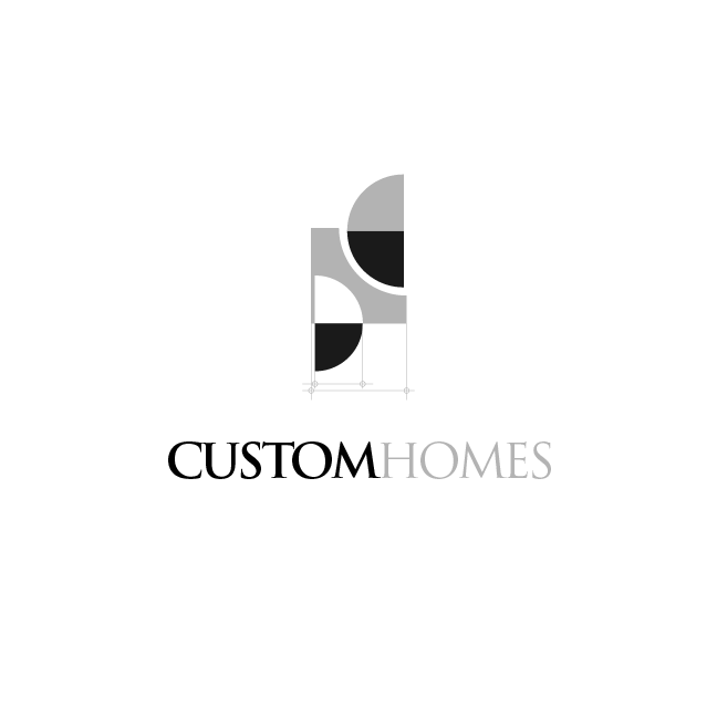 Logo Design by chinie05 - Entry No. 218 in the Logo Design Contest Creative Logo Design for DC Custom Homes.