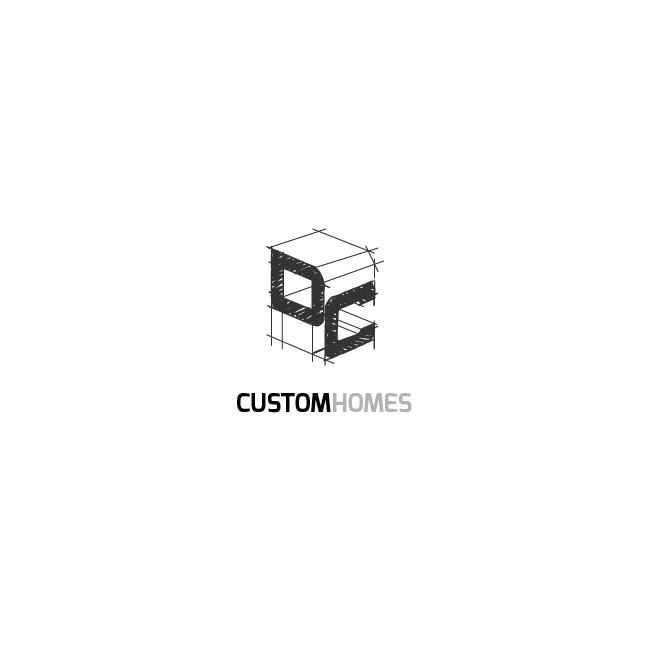 Logo Design by chinie05 - Entry No. 219 in the Logo Design Contest Creative Logo Design for DC Custom Homes.