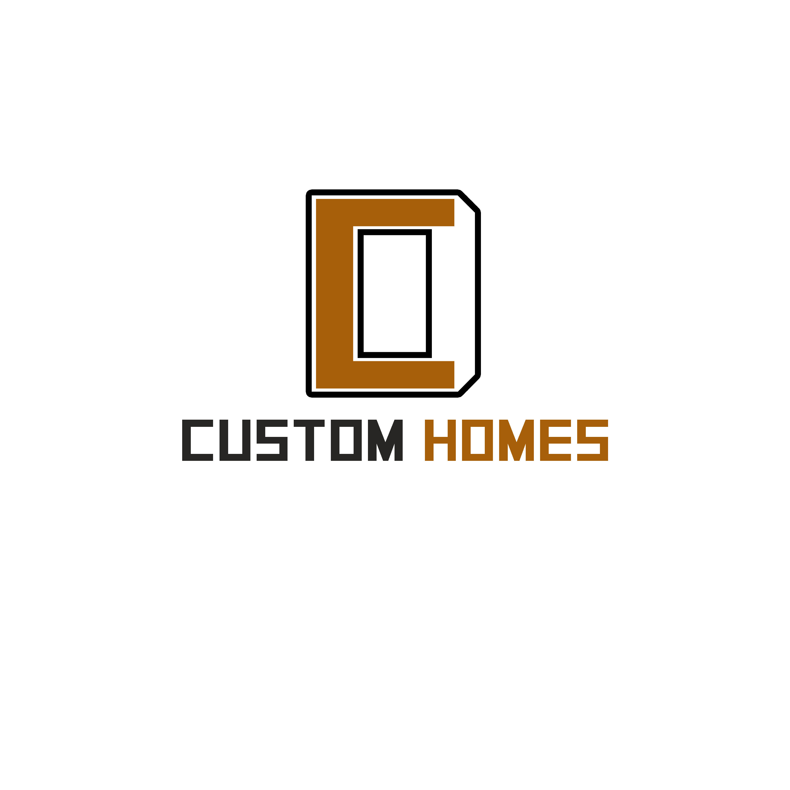 Logo Design by Allan Esclamado - Entry No. 220 in the Logo Design Contest Creative Logo Design for DC Custom Homes.