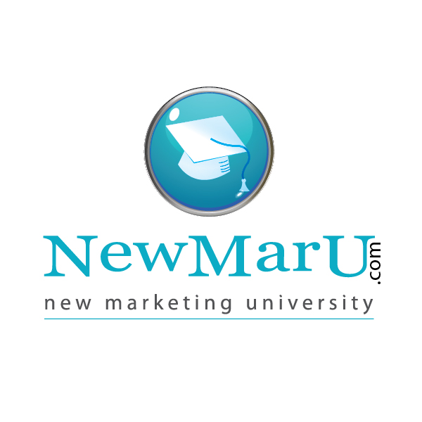 Logo Design by aesthetic-art - Entry No. 68 in the Logo Design Contest NewMarU.com (New Marketing University).