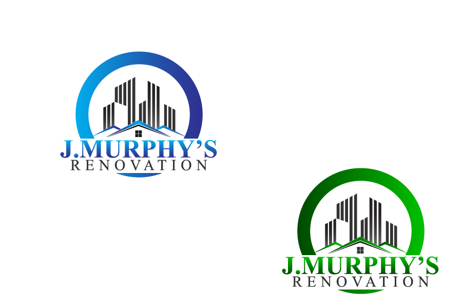Logo Design by brands_in - Entry No. 55 in the Logo Design Contest J. Murphy's Renovations Logo Design.