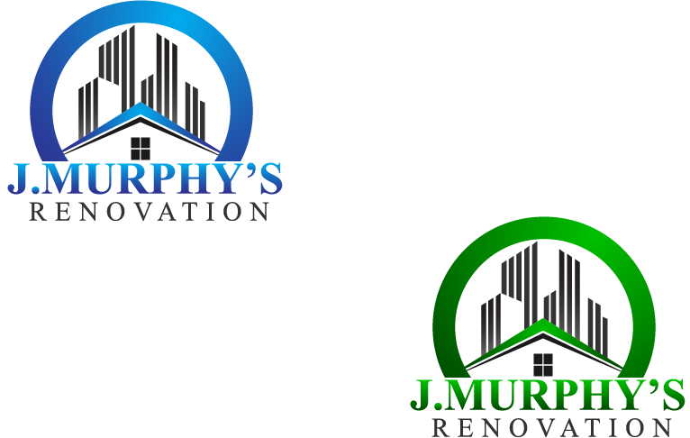 Logo Design by brands_in - Entry No. 56 in the Logo Design Contest J. Murphy's Renovations Logo Design.