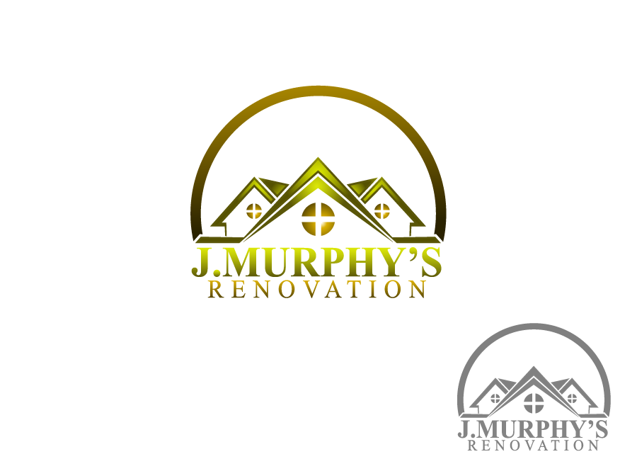 Logo Design by Private User - Entry No. 58 in the Logo Design Contest J. Murphy's Renovations Logo Design.