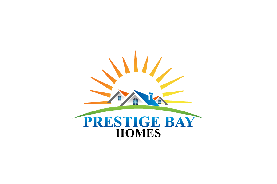 Logo Design by Private User - Entry No. 17 in the Logo Design Contest Imaginative Logo Design for Prestige Bay Homes.