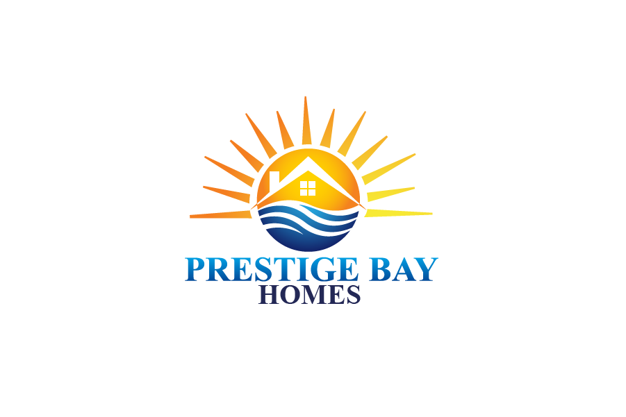 Logo Design by Private User - Entry No. 20 in the Logo Design Contest Imaginative Logo Design for Prestige Bay Homes.
