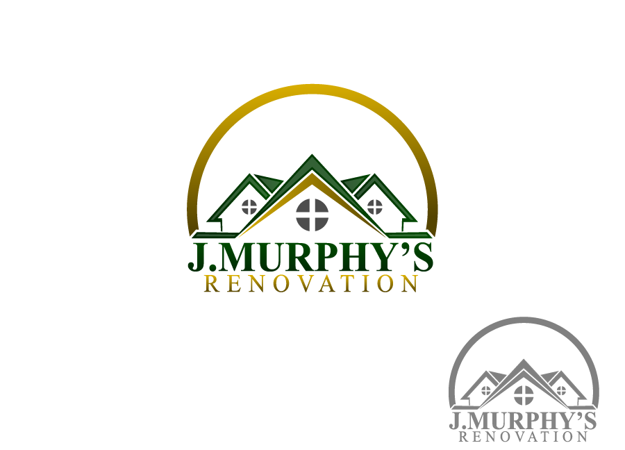 Logo Design by Private User - Entry No. 59 in the Logo Design Contest J. Murphy's Renovations Logo Design.