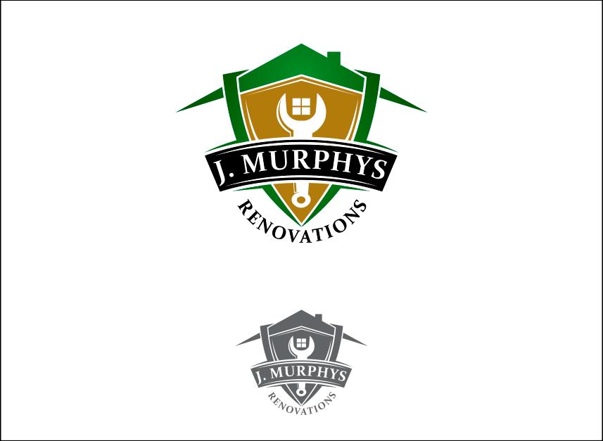 Logo Design by Armada Jamaluddin - Entry No. 60 in the Logo Design Contest J. Murphy's Renovations Logo Design.