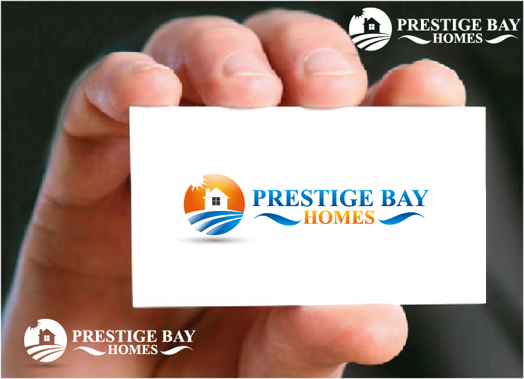 Logo Design by Private User - Entry No. 22 in the Logo Design Contest Imaginative Logo Design for Prestige Bay Homes.