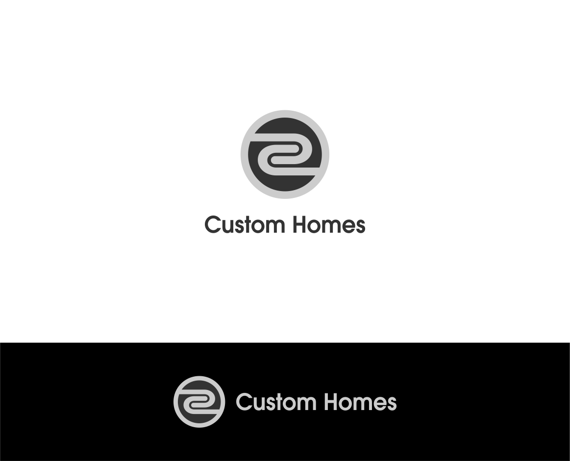 Logo Design by haidu - Entry No. 222 in the Logo Design Contest Creative Logo Design for DC Custom Homes.