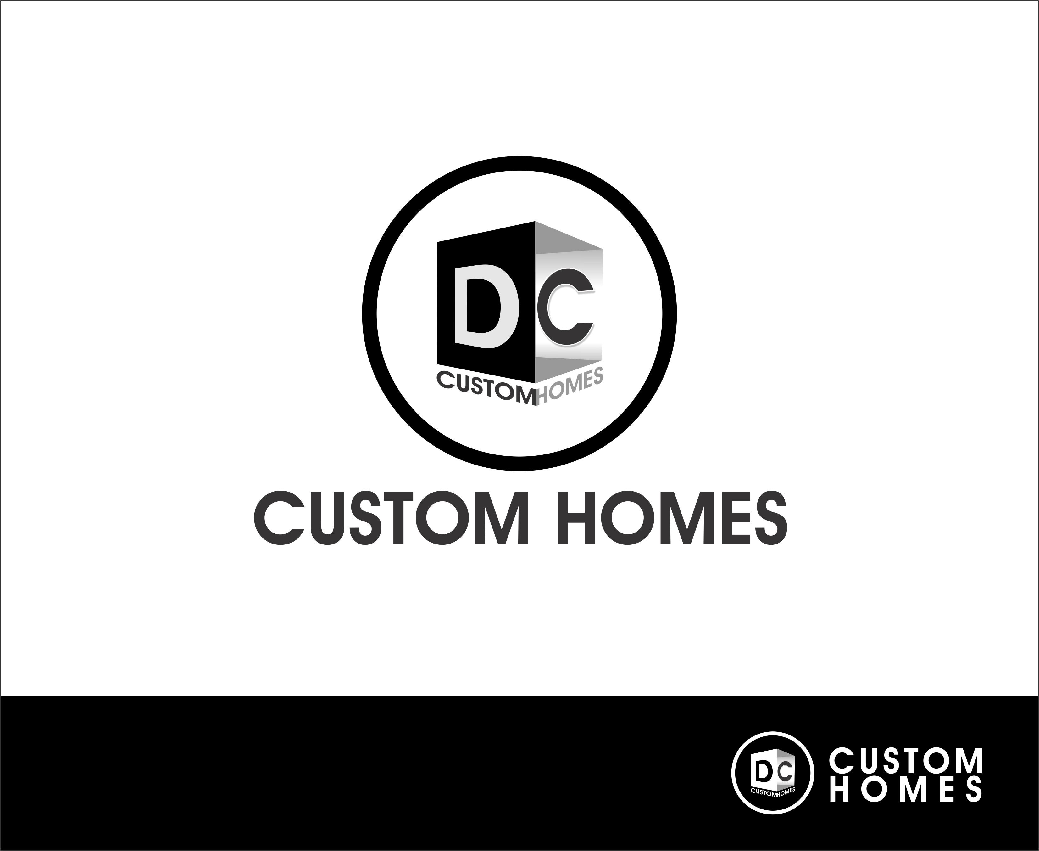 Logo Design by Mhon_Rose - Entry No. 224 in the Logo Design Contest Creative Logo Design for DC Custom Homes.