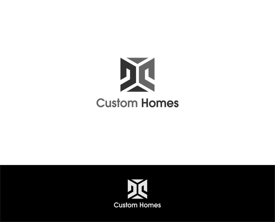 Logo Design by haidu - Entry No. 225 in the Logo Design Contest Creative Logo Design for DC Custom Homes.