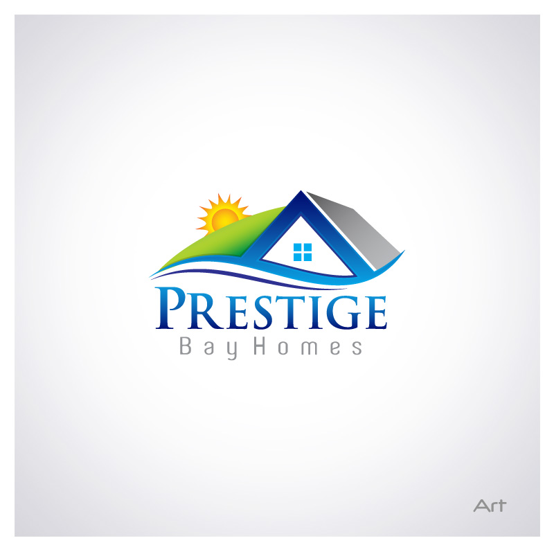 Logo Design by Puspita Wahyuni - Entry No. 29 in the Logo Design Contest Imaginative Logo Design for Prestige Bay Homes.