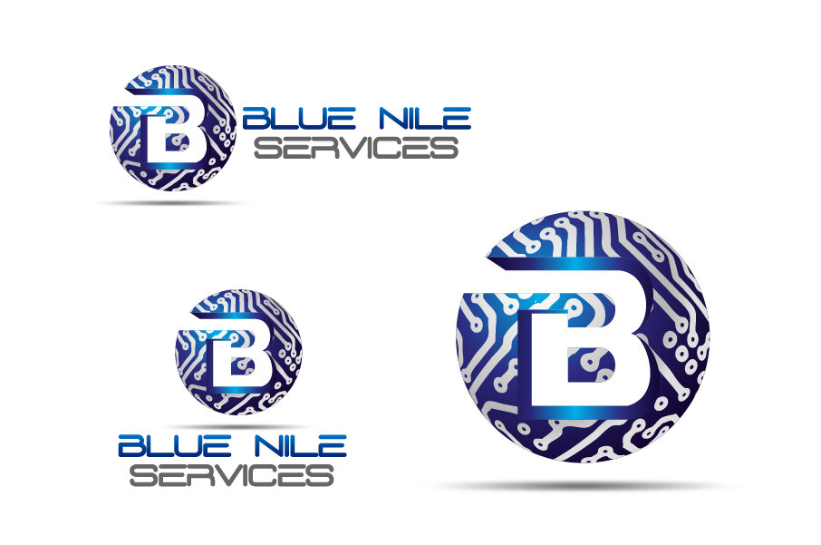 Logo Design by Private User - Entry No. 21 in the Logo Design Contest Imaginative Logo Design for Blue Nile Service Ltd.