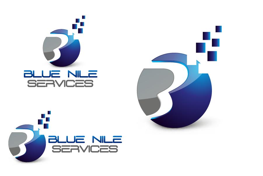Logo Design by Private User - Entry No. 22 in the Logo Design Contest Imaginative Logo Design for Blue Nile Service Ltd.