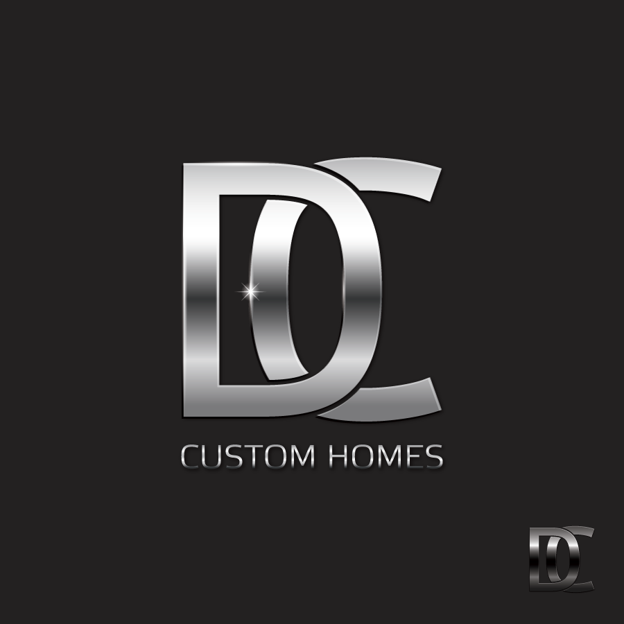 Logo Design by Private User - Entry No. 229 in the Logo Design Contest Creative Logo Design for DC Custom Homes.