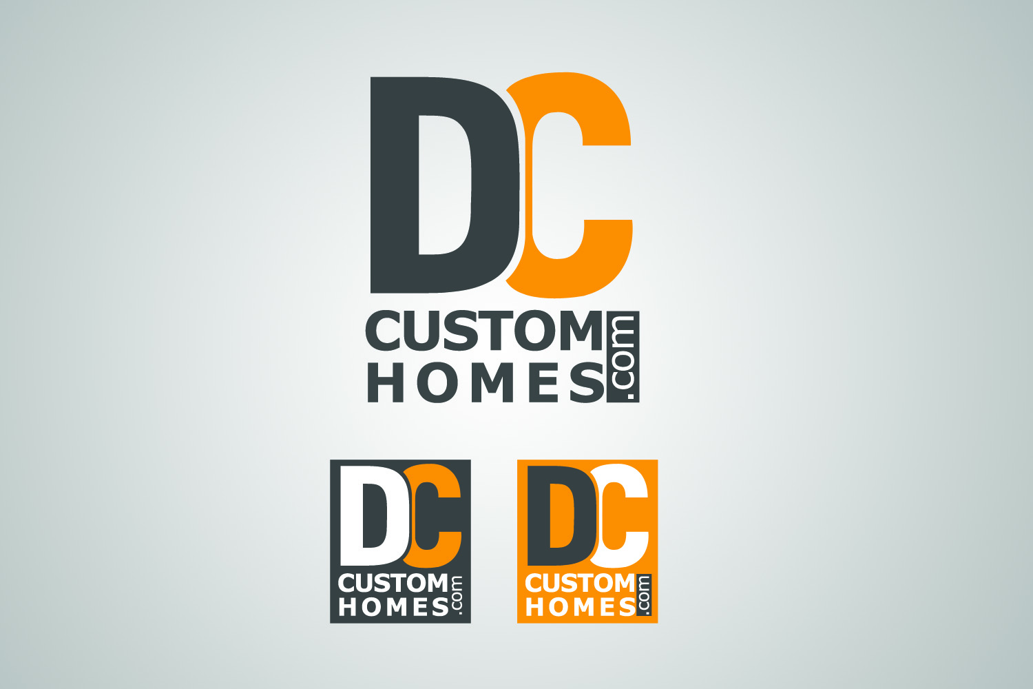 Logo Design by Private User - Entry No. 233 in the Logo Design Contest Creative Logo Design for DC Custom Homes.